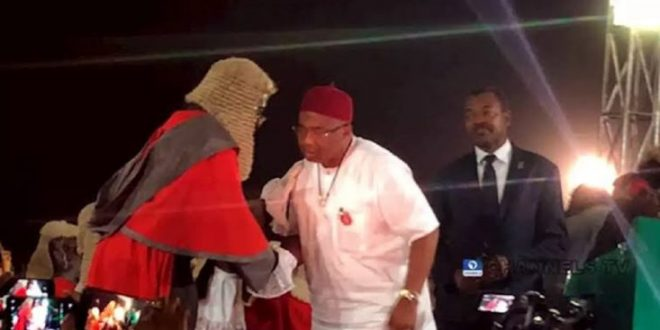 Sen. Hope Uzodinma sworn in as Imo State Governor